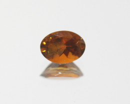 Brown Tourmaline Faceted Oval 8.5x5.5mm.-(0.91ct).- SKU 212
