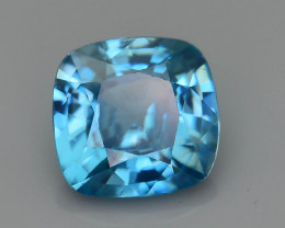AAA Brilliance 3.12 ct Blue Zircon Cambodia SKU.11