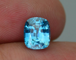 AAA Brilliance 2.19 ct Blue Zircon Cambodia SKU.11