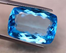 26.06ct Natural Swiss Blue Topaz Octagon Cut Lot V7332