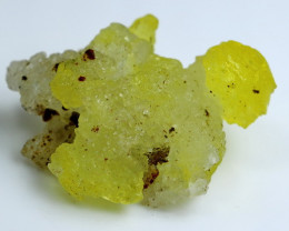 58.20 CT Unheated ~ Natural Rare Yellow Brucite Specimen