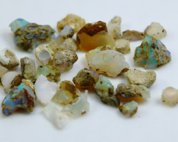 54.50 CT Natural - Unheated White  Opal Rough Lot