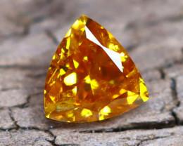 Orange Diamond 0.20Ct Natural Fancy Diamond A2106