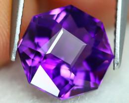 Uruguay Amethyst 2.85Ct VVS Master Cut Natural Violet Amethyst B2101