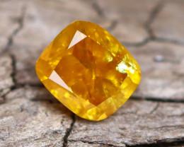 Yellowish Orange Diamond 0.28Ct Natural Fancy Diamond B2102