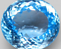 35.37 ct. 100% Natural Earth Mined Top Quality Blue Topaz Brazil