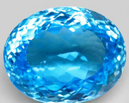 39.35  ct. 100% Natural Earth Mined Top Quality Blue Topaz Brazil