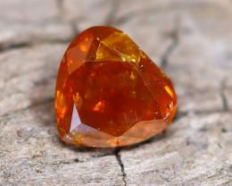 Brownish Orange Diamond 0.26Ct Natural Fancy Diamond B2106