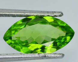Gorgeous!!! 3.43 Cts Natural Peridot Stunning Green Marquise Pakistan