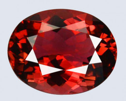 Marvelous !! 4.33 Cts Natural Reddish Pink Tourmaline Oval Mozambique