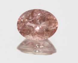 Pink Tourmaline Faceted Oval 8.3x6.3mm.-(1.35ct).- SKU 216