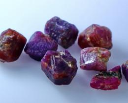 68.70 CTs CT Natural & Unheated Purple Corundom Rough Lot