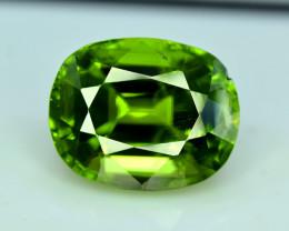 Peridot, 10.50 Ct Top Quality Oval Shape Peridot Gemstone