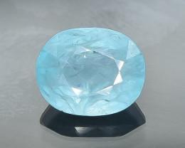 1.23 Crt Natural  Grandidierite Faceted Gemstone.( AB 79)