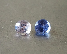 1.16ct natural unheated sapphires