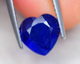 2.48ct Ceylon Blue Sapphire Heart Cut Lot V7339