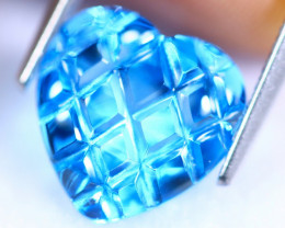 4.23cts Natural Swiss Blue Colour Topaz / MA138