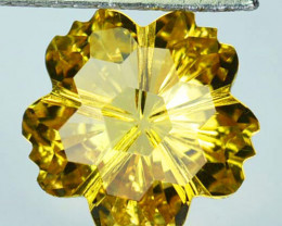 Perfect!! 5.25 Cts Natural Citrine Fancy Cut Brazil Collection Gem