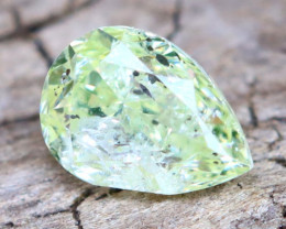Yellowish Green Diamond 0.22Ct Natural Fancy Diamond B2214