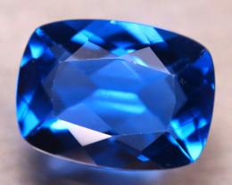 Fluorite 11.81Ct Natural IF Vivid Bule Color Change Fluorite D2609/A49