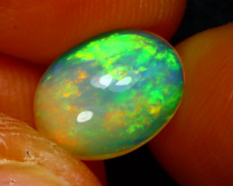 Welo Opal 1.56Ct Natural Ethiopian Play of Color Opal D2633/A44