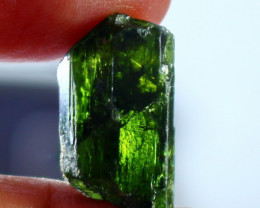 218 CT Natural - Unheated Green Epidot Crystal Rough Lot