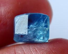 5.90 CT Natural - Unheated  Blue Aquamarine Handmade Crystal
