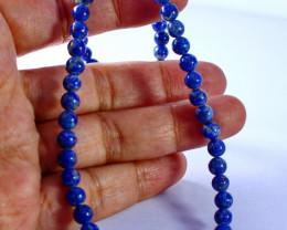 115.65 CT Natural - Unheated Blue Lapis Lazuli Beads