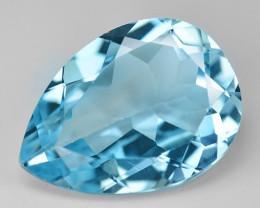 12.10 Carat Swiss Blue Natural Topaz Gemstones