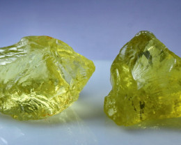 308.80 CT Natural - Unheated Yellow Citrine Rough Lot