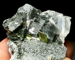 Amazing Natural color Titanite Sphene Specimen 220 Cts-Pakistan