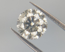 Yellow Natural Diamond , 0.45 cts Natural Diamond , High Quality Diamond ,