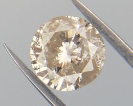 0.50 CTS , Champagne Diamond , Natural Color Diamond ,  WR1050