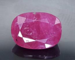 2.79 Crt  Ruby Faceted Gemstone (Rk-52)