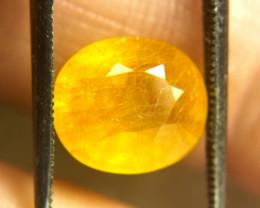 6.80 Carat Yellow Sapphire - Gorgeous