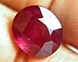 11.15 Carat Fiery Ruby - Gorgeous