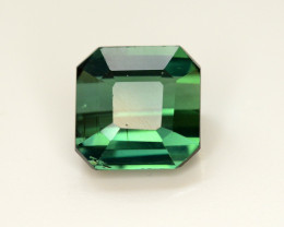 Top Color 4.35 Ct Lagoon Green Tourmaline Form Jaba Mine Afghanistan.
