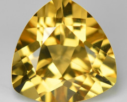 4.39 Cts Fancy Golden Yellow Color Natural Citrine Gemstone