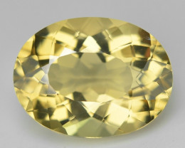5.61 Cts Fancy Golden Yellow Color Natural Citrine Gemstone