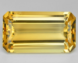 15.22 Cts Fancy Golden Yellow Color Natural Citrine Gemstone