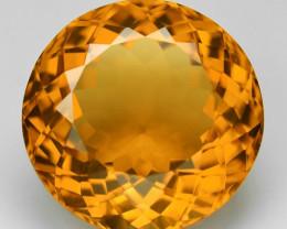 20.02 Cts Fancy Golden Orange Color Natural Citrine Gemstone