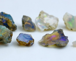 25.60 CT Natural - Unheated White Opal Rough Lot