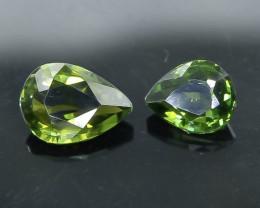 3.29 Crt Natural Tourmaline  Faceted Gemstone.( AB 80)