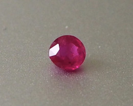 0.51ct Natural unheated ruby