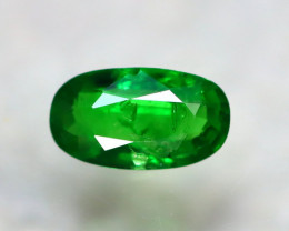 Tsavorite 0.88Ct Natural Intense Vivid Green Color Tsavorite Garnet D2818