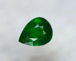 Tsavorite 0.81Ct Natural Intense Vivid Green Color Tsavorite Garnet D2819