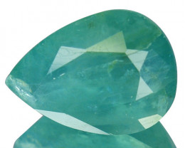 ~RAREST~ 3.74 Cts Natural Grandidierite Bluish Green Pear Madagascar