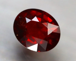 Almandine 2.00Ct Natural Vivid Blood Red Almandine Garnet D2822/B26