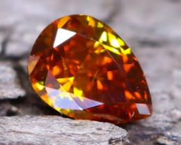Brownish Orange Diamond 0.17Ct Natural Fancy Diamond A2507