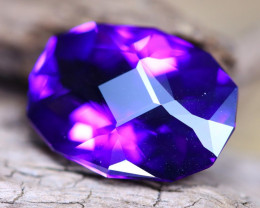 Uruguay Amethyst 6.74Ct VVS Master Cut Natural Violet Amethyst A2510